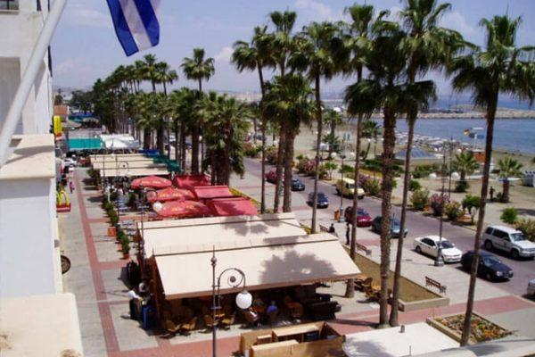 Larnaca beachers and sefront (2)